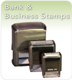 Bank and Business Stamps